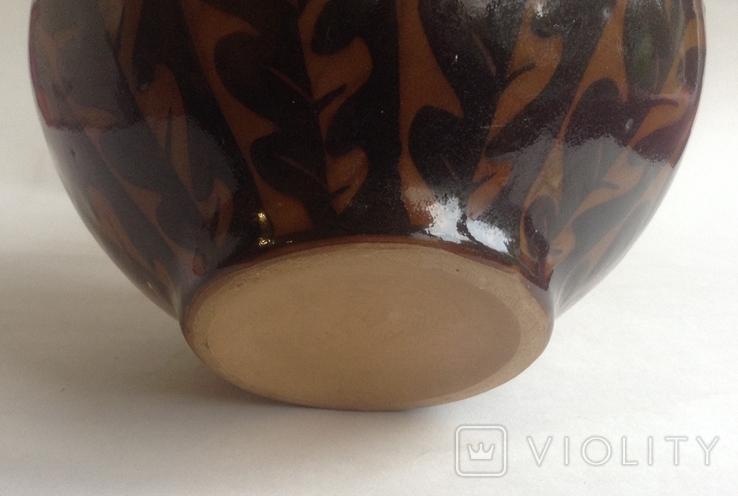 Ваза Дубовый лист. Керамика., фото №6