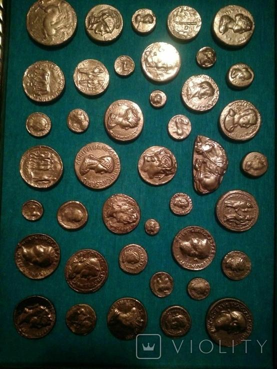 Копии золотых античных монет, фото №3
