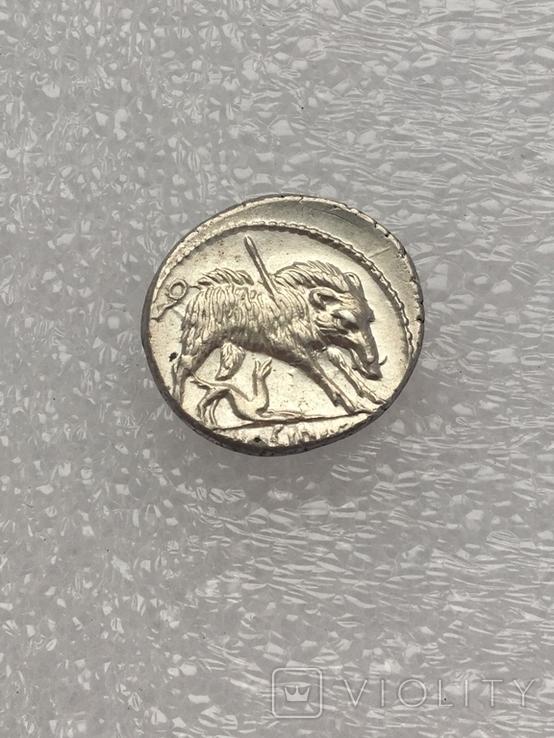 Республиканский денарий 68 г. до н. э., фото №7