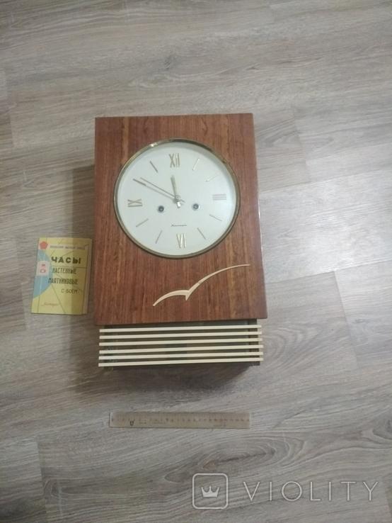 Настенные часы Янтарь нерабочие с инструкцией, фото №2