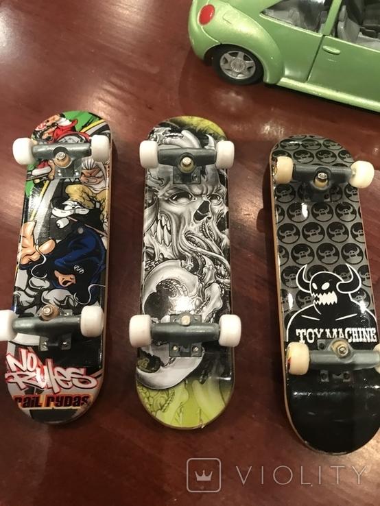 Миниатюрные скейт доски, фото №4