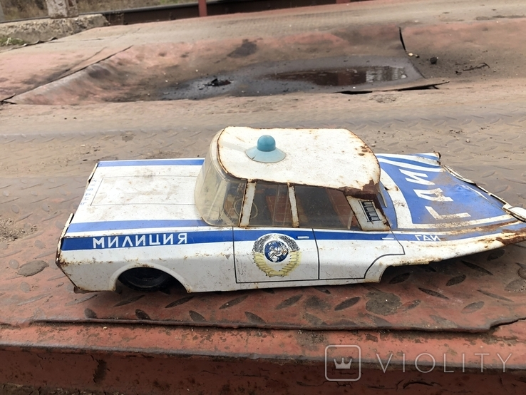 Машинка Гаи милиционеры, фото №5