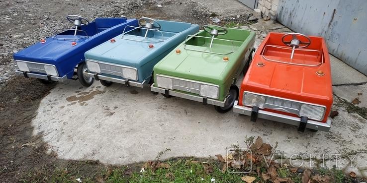 Педальные машинки автопарк, фото №2