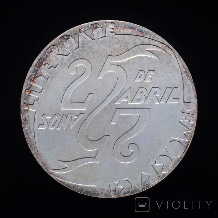 1000 Эскудо 1999 25 лет Революции 25 апреля, Португалия, фото №3