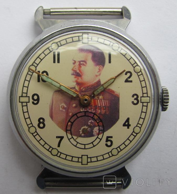 """Часы-марьяж. """"Сталин""""., фото №2"""