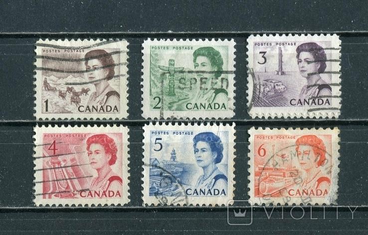 Канада, стандарты. Елизавета II. 1967-69 г., фото №2