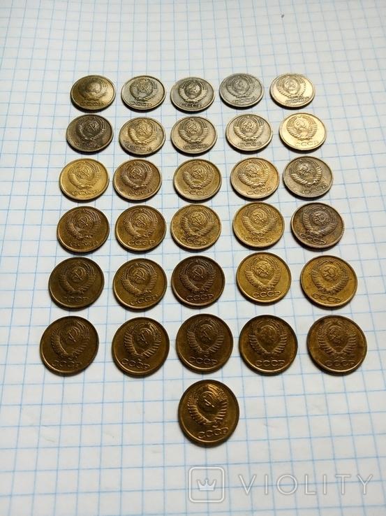 1копейка СССР 1961,62,63,65-91м,л. Без повторов, фото №6