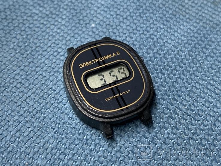 Электроника 5 Часы наручные СССР Новые в упаковке с паспортом, фото №5