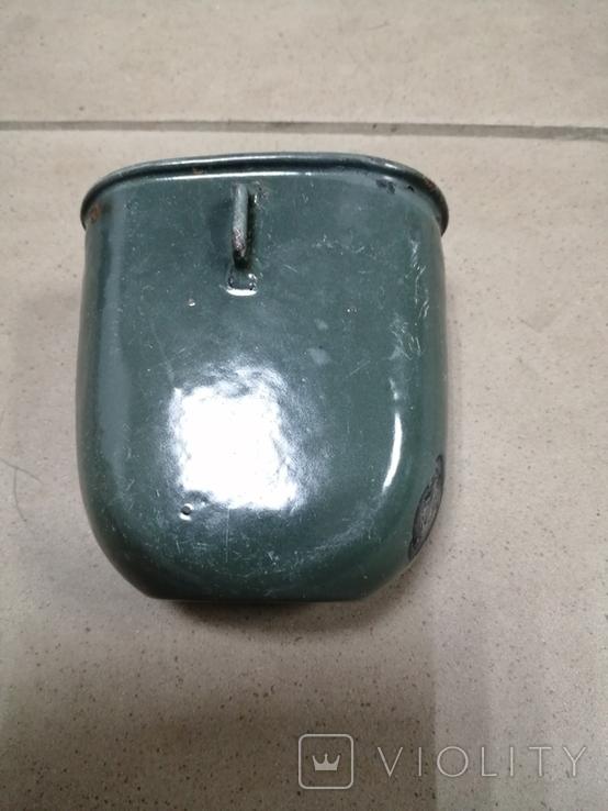 Кружка вид фляги А/В. клеймо, фото №3