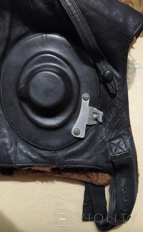 Шлем лётный СССР 1979г.зимний 53 размер, фото №11