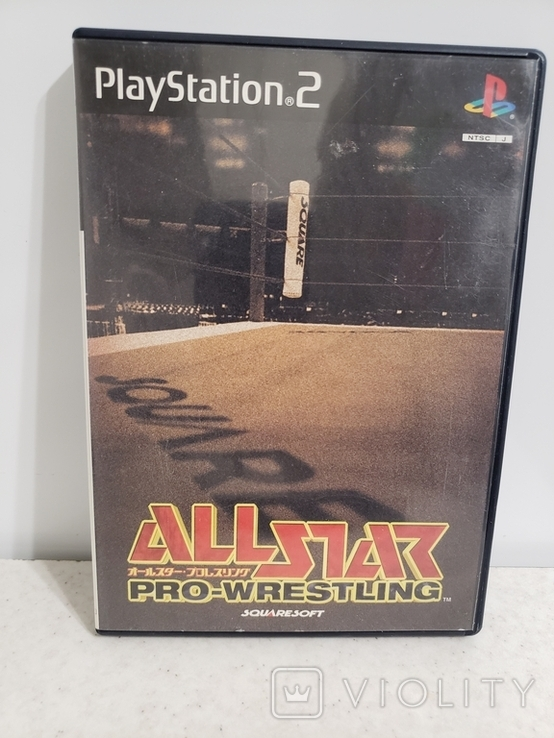 All Star Pro-Wrestling (PS2, NTSC-J), фото №2