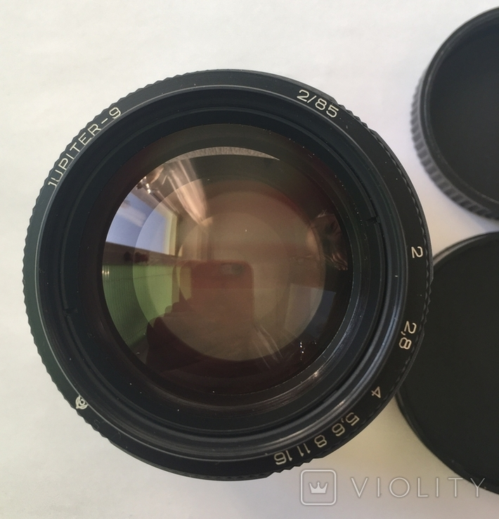 Портретный объектив Юпитер-9 2/85  М42 (черный), фото №2
