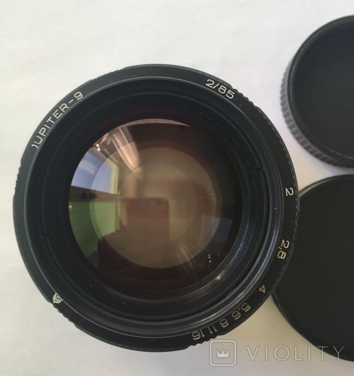 Портретный объектив Юпитер-9 2/85  М42 (черный), фото №4