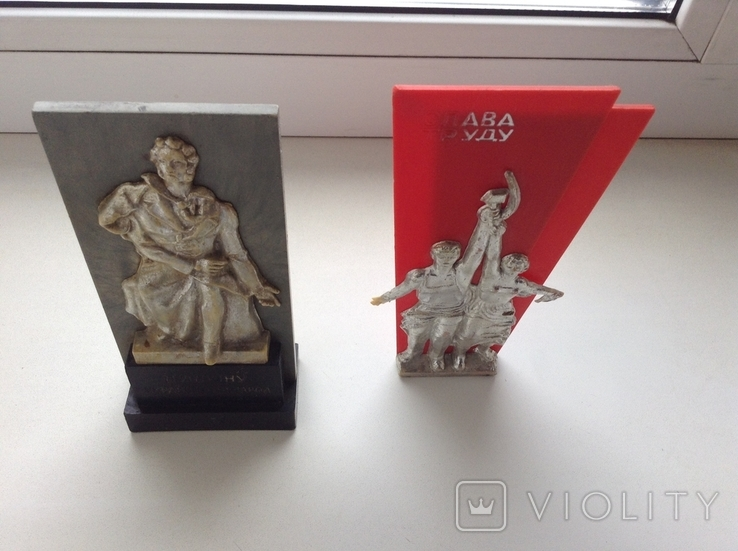 Настольные плакетки 2 шт., фото №5