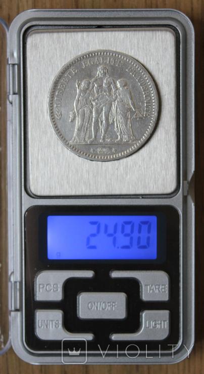 5 франков 1873, фото №4