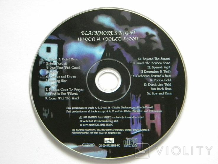 BLACKMORES NIGHT - UNDER A VJOLEC MOON., фото №5