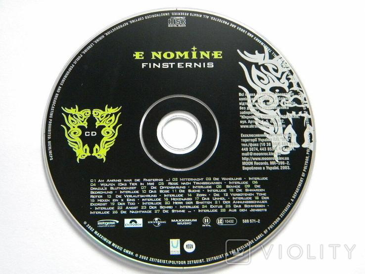 E NOMINE - FINSTERNIS., фото №6