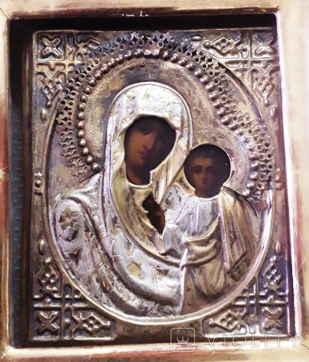 Икона Богородица Казанская, фото №2