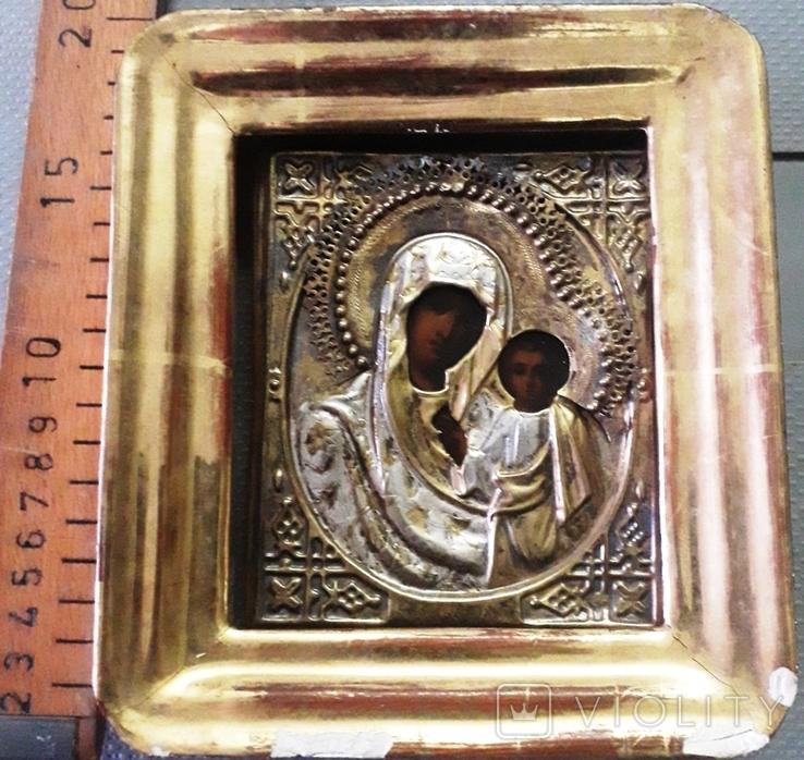 Икона Богородица Казанская, фото №3