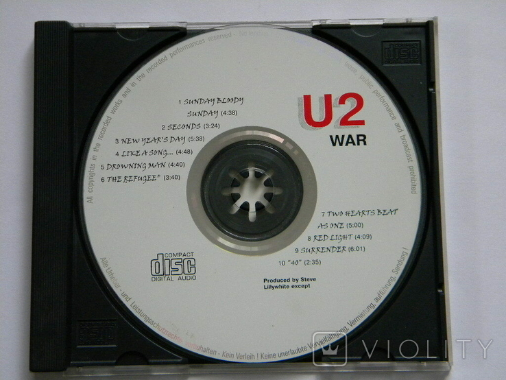 U 2 - WAR., фото №3