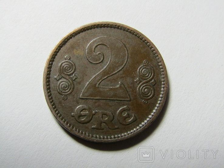 Дания 2 эре 1920, фото №2