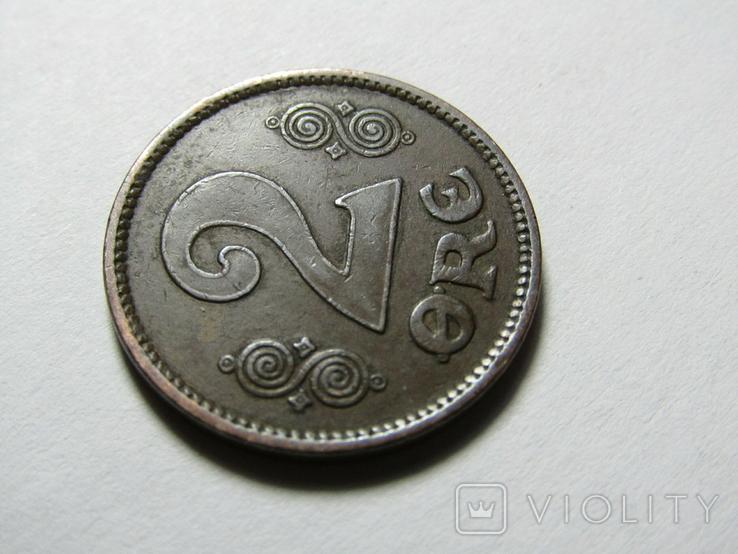 Дания 2 эре 1920, фото №4