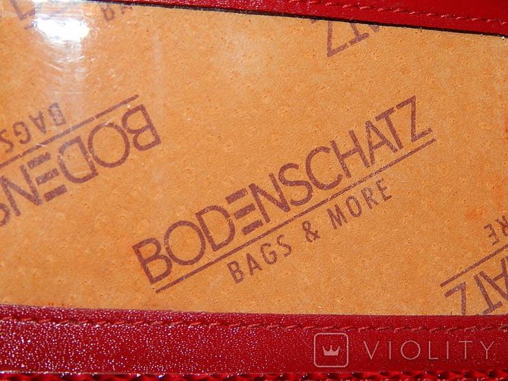 Кожаный красный кошелек, фото №9