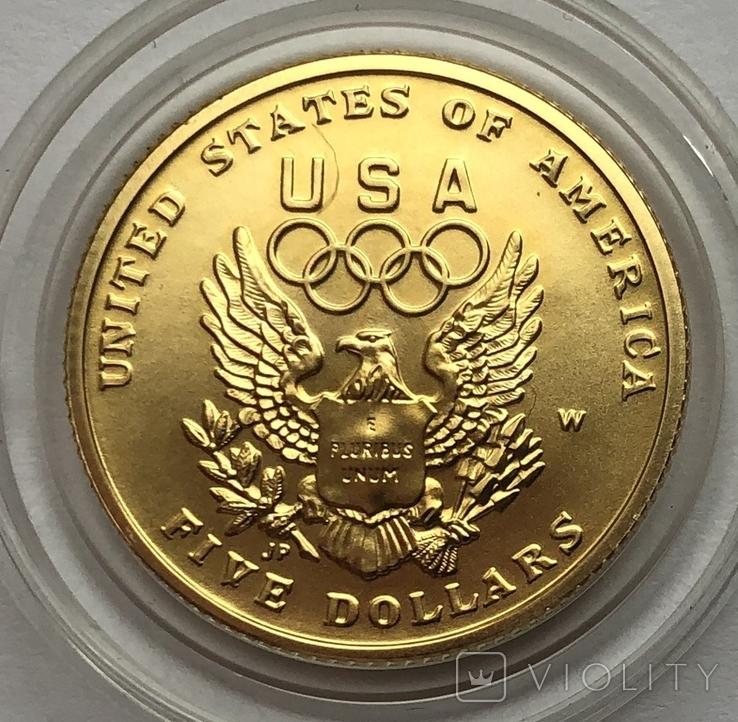 5 долларов 1992 года. США, фото №2
