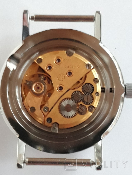 Луч  с серебристым циферблатом, фото №4