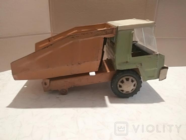 Большой грузовик самосвал завода Запорожсталь., фото №3