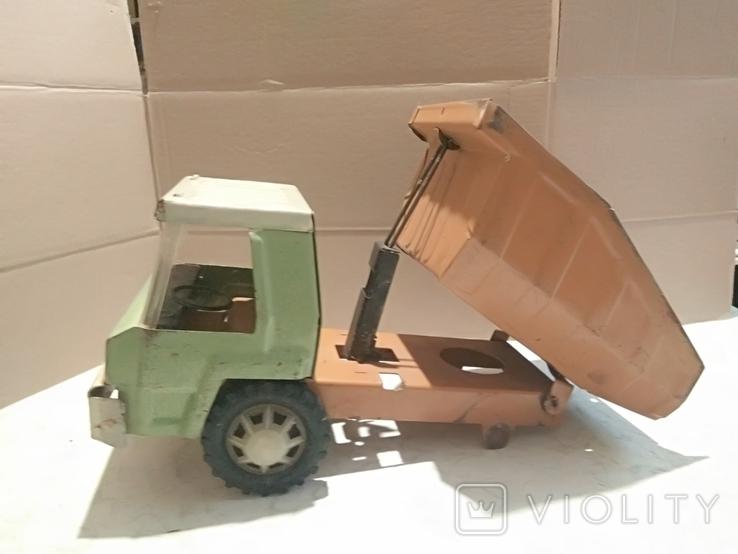 Большой грузовик самосвал завода Запорожсталь., фото №4