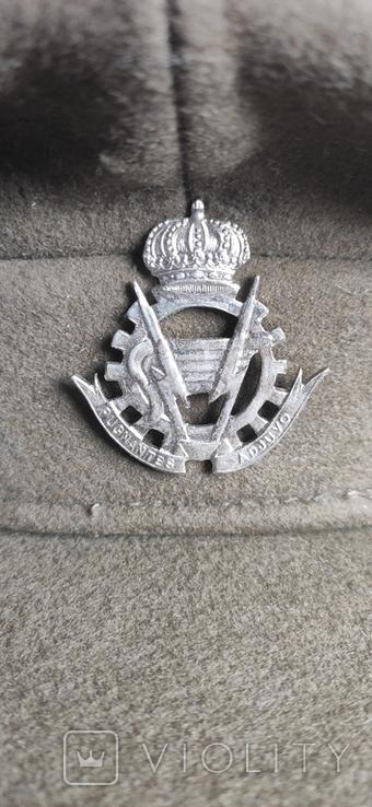 Бельгийская военная фуражка, фото №3