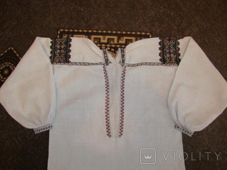 Старовинна вишита сорочка.поч ХХст., фото №2