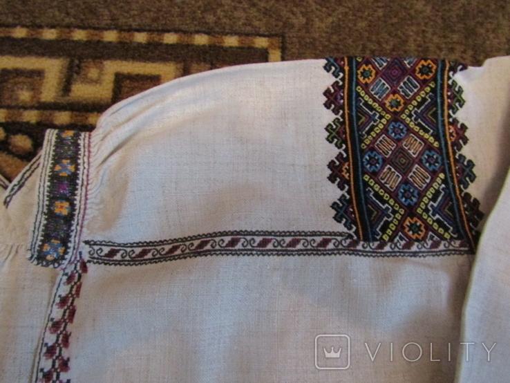 Старовинна вишита сорочка.поч ХХст., фото №5