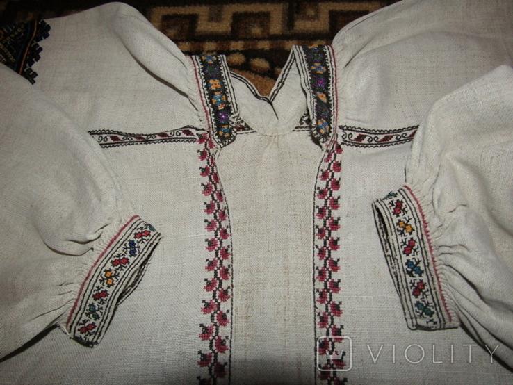 Старовинна вишита сорочка.поч ХХст., фото №6