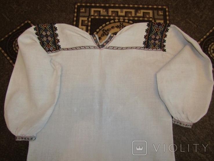 Старовинна вишита сорочка.поч ХХст., фото №9