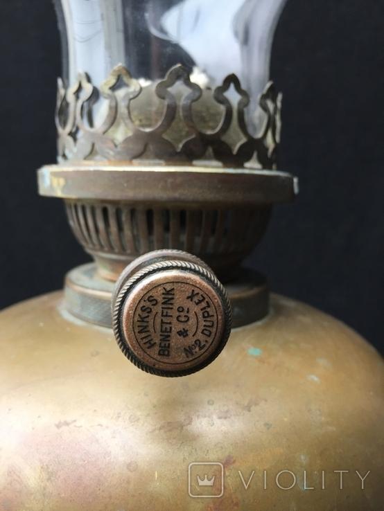 """Керосиновая лампа """"Hinks'S"""", Лондон,нач.20го века, фото №4"""