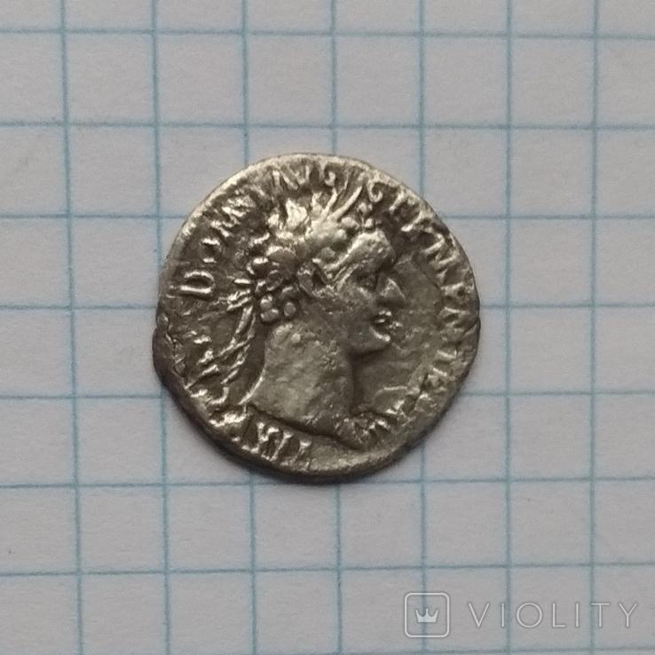 Денарий Домициана., фото №3