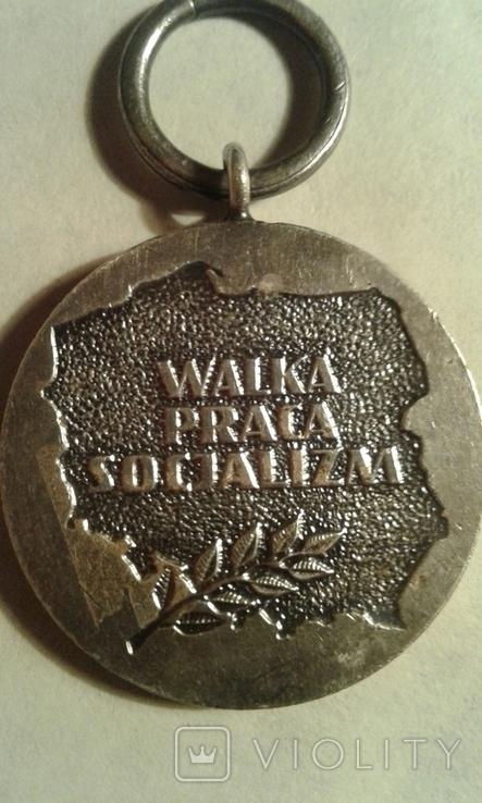Польская-медаль, фото №3