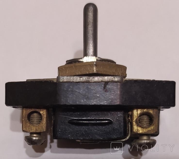 Тумблер на 3 позиции, СССР, фото №6