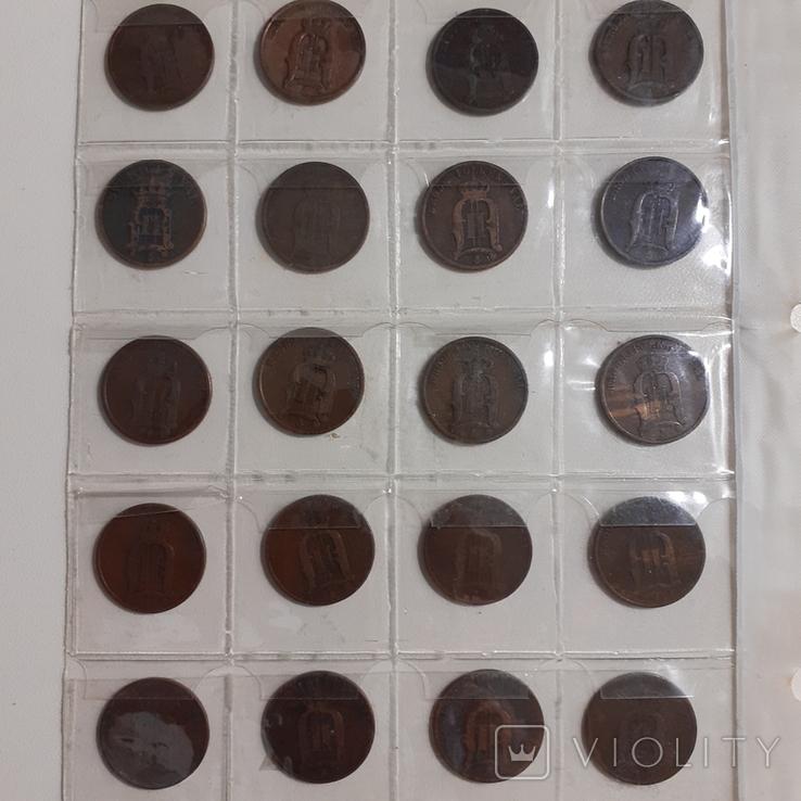 20 монет Швеції по 2 оре 1881-1907 роки, фото №7