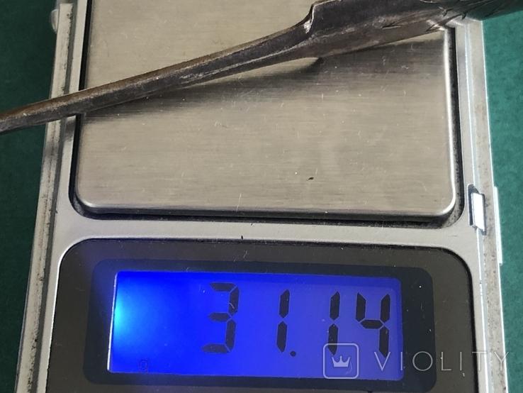 Щипцы для сахара. 84 проба. Царская Россия, фото №6