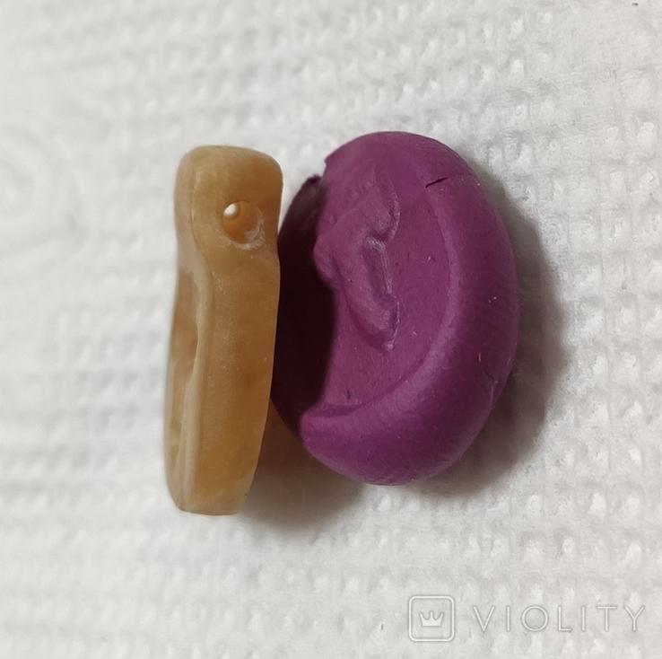 Кам'яна підвіска чк (копія), фото №5