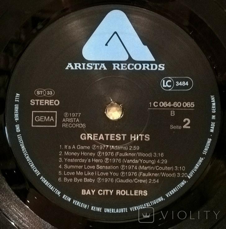 Bay City Rollers  (Greatest Hits) 1975-77. (LP). 12. Vinyl. Пластинка. Germany., фото №5