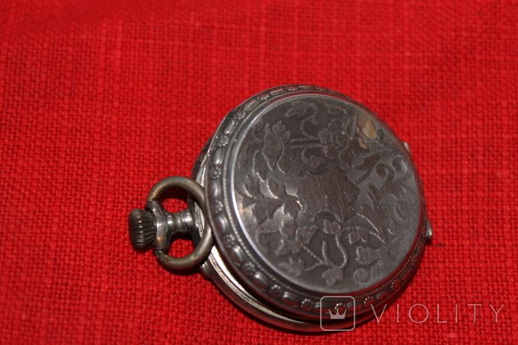 Часы карманные серебро, фото №2