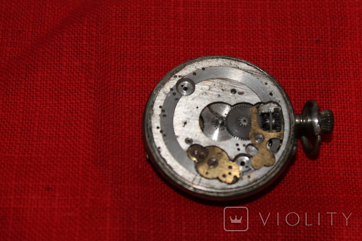 Часы карманные серебро, фото №4