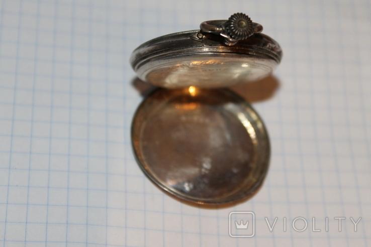 Часы карманные серебро, фото №7