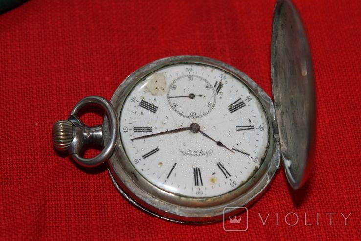 Часы карманные серебро(2), фото №3