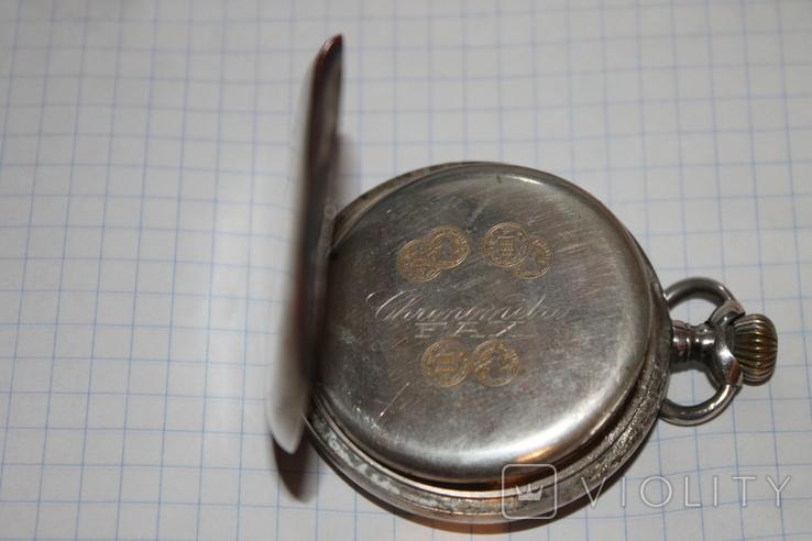 Часы карманные серебро(2), фото №7