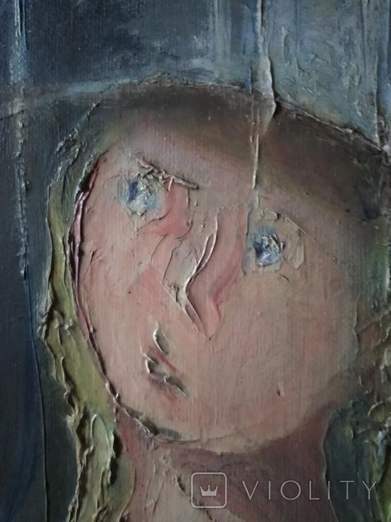 """""""Просвет"""" х.м. 60х50 см, фото №4"""